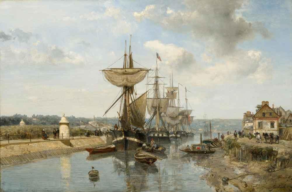 Frigates - Johan Barthold Jongkind