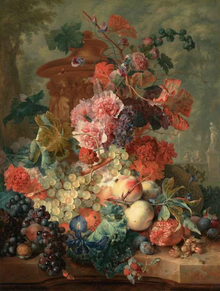 Fruit Piece - Jan van Huysum