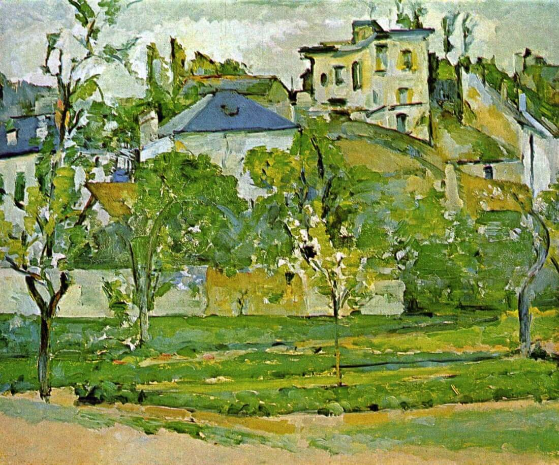 Fruit garden in Pontoise - Cezanne