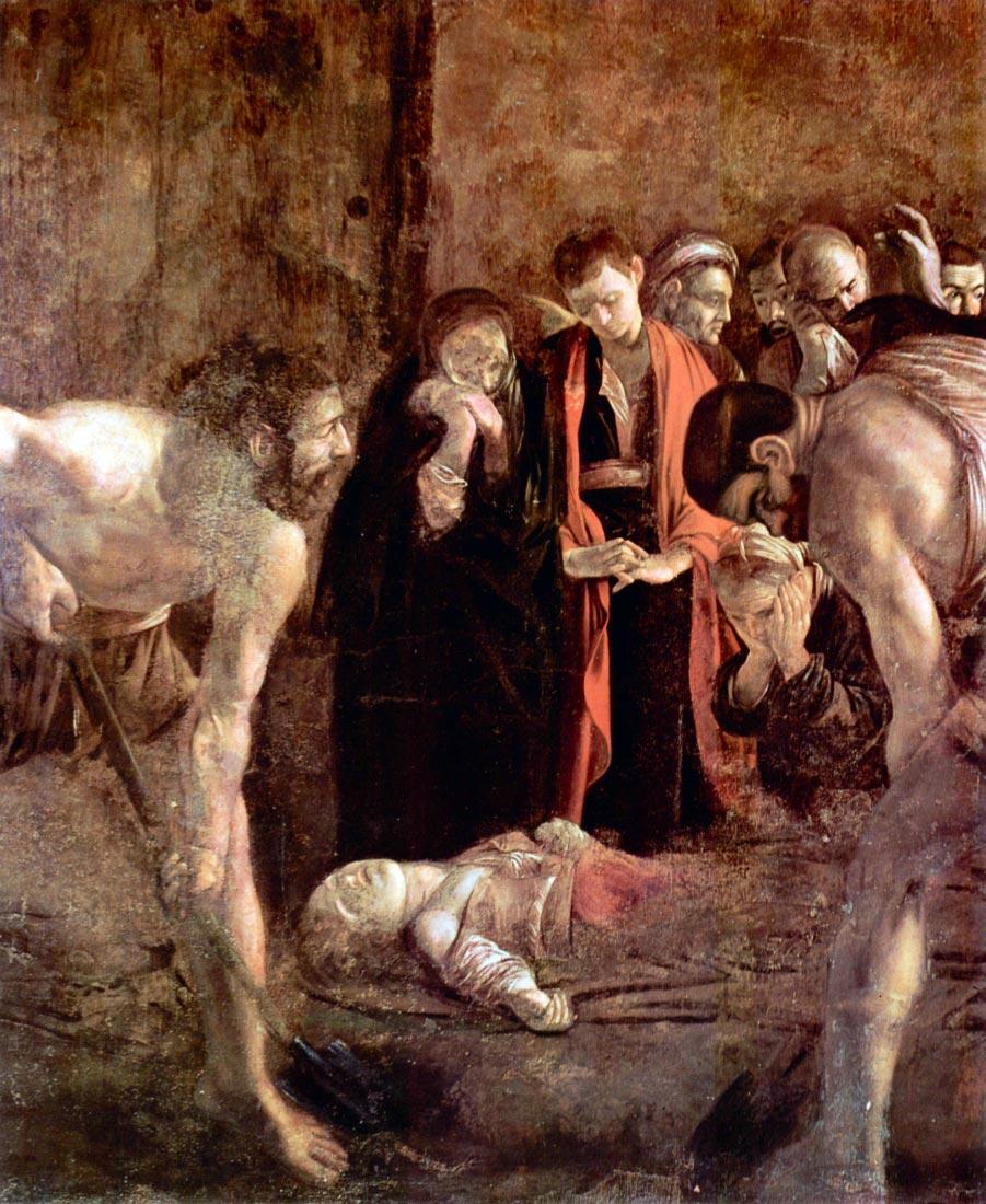 Funeral of St. Lucia - Caravaggio