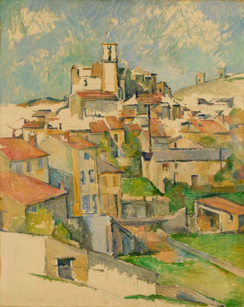 Gardanne 2 - Paul Cezanne
