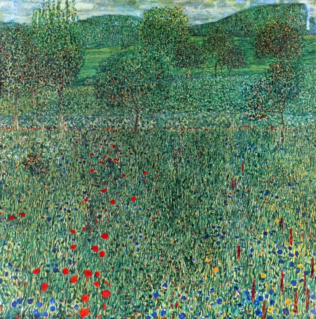 Garden landscape - Klimt