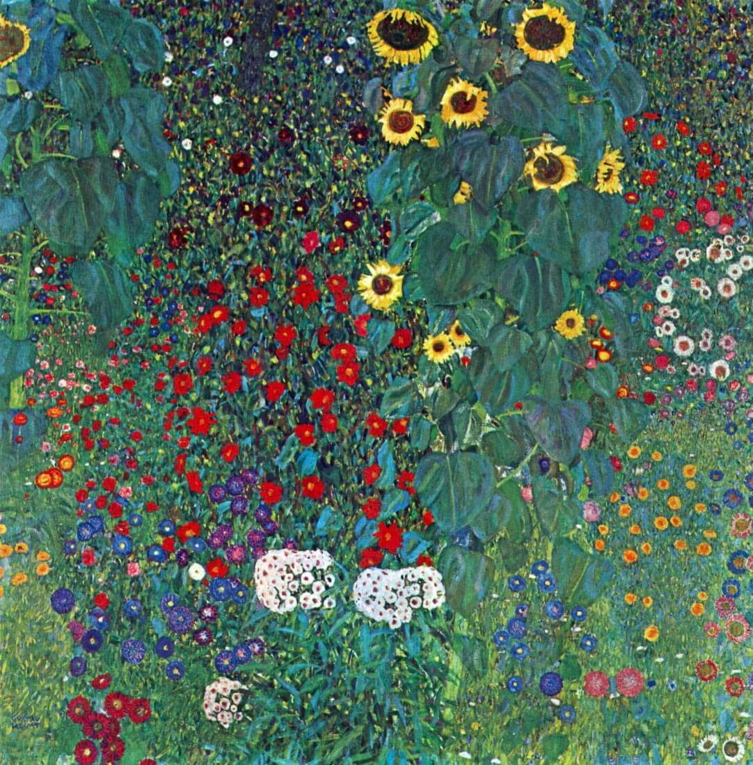 Garden with Crucifix 2 - Klimt