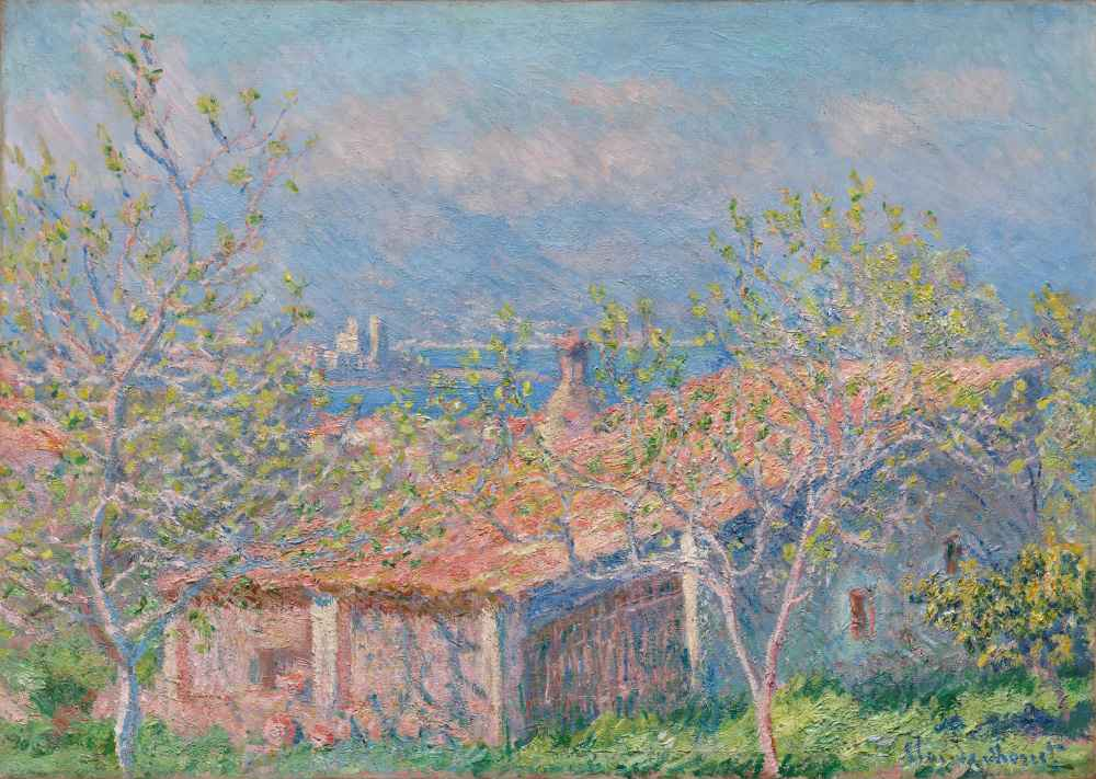 Gardeners House at Antibes - Claude Monet