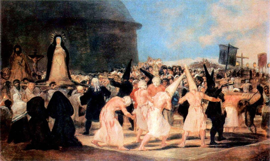 Geissler procession - Goya
