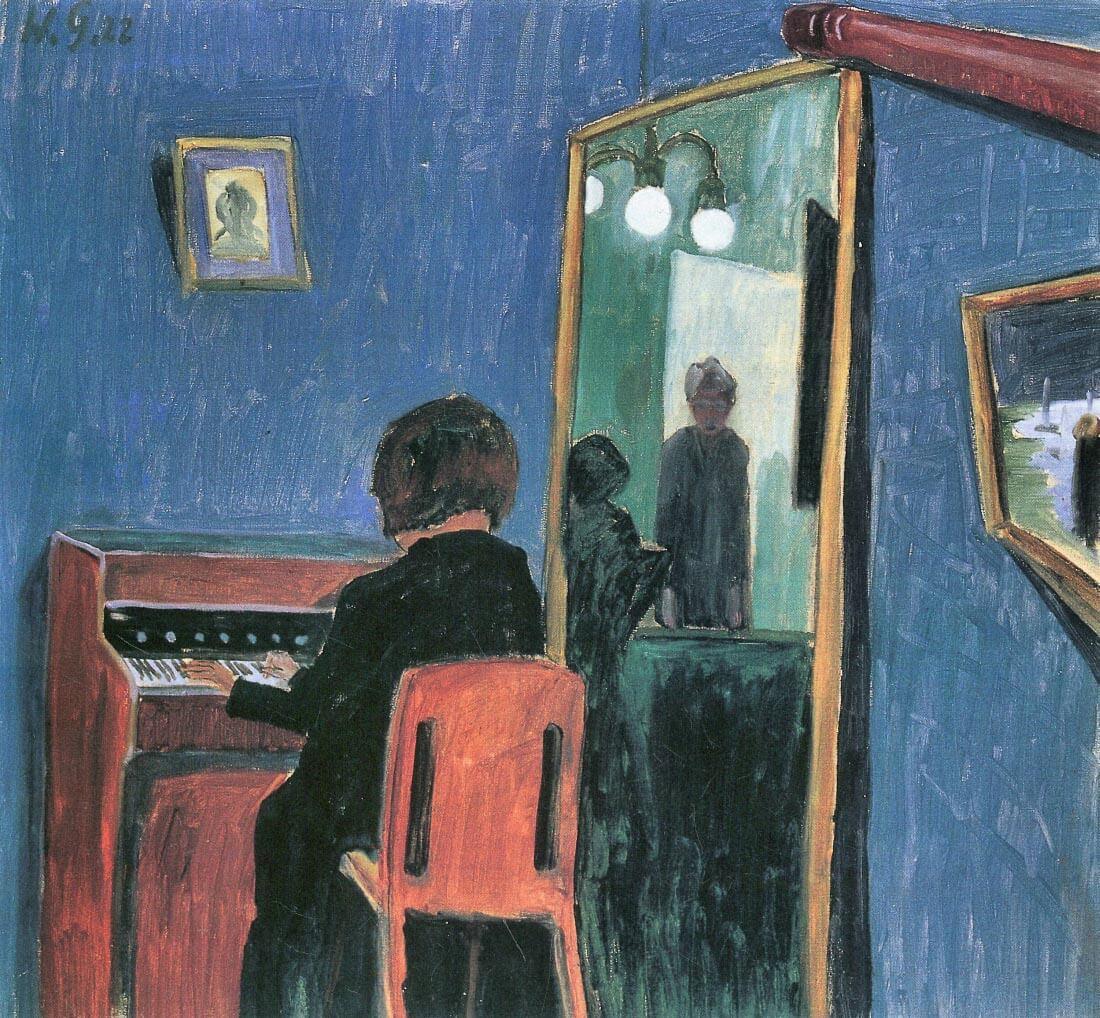 Girl at the keyboards - Walter Gramatte