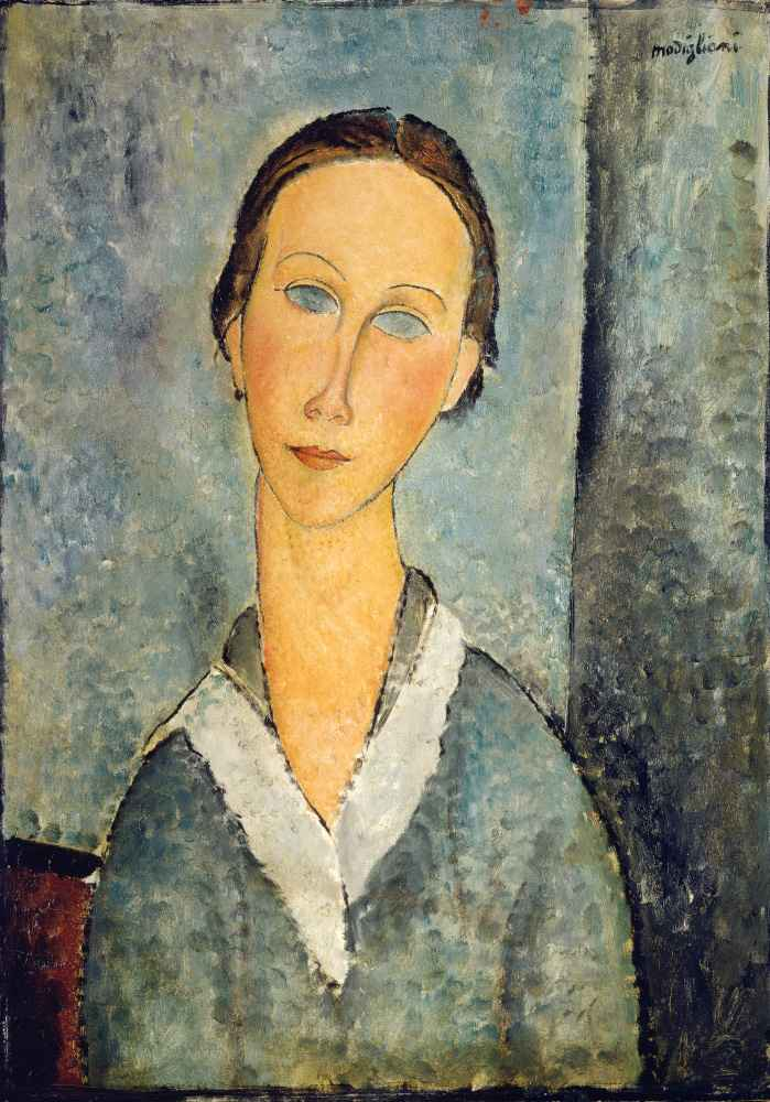 Girl in a Sailors Blouse - Amedeo Modigliani