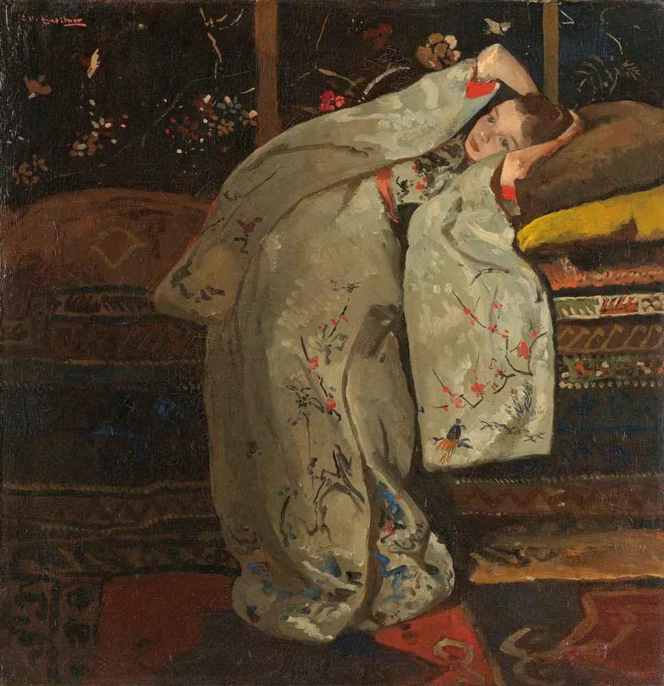 Girl in a White Kimono - George Hendrik Breitner