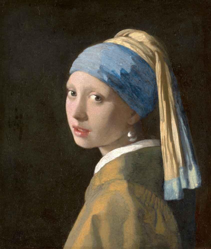 Girl with a Pearl Earring, c. 1665 - Jan Vermeer