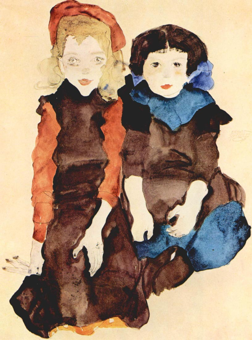 Girls - Schiele