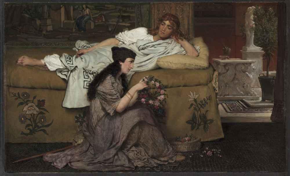 Glaucus and Nydia - Lawrence Alma-Tadema