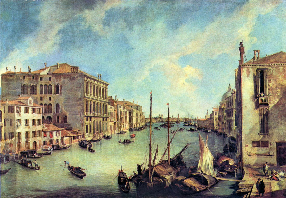 Grand Canal at San Vio - Canaletto