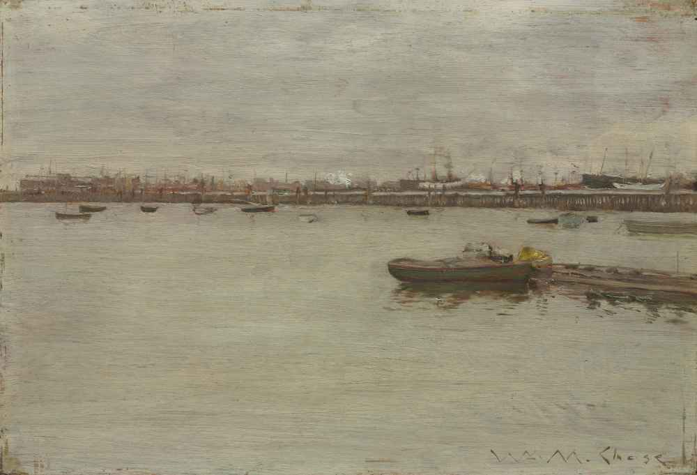 Gray Day on the Bay - William Merritt Chase