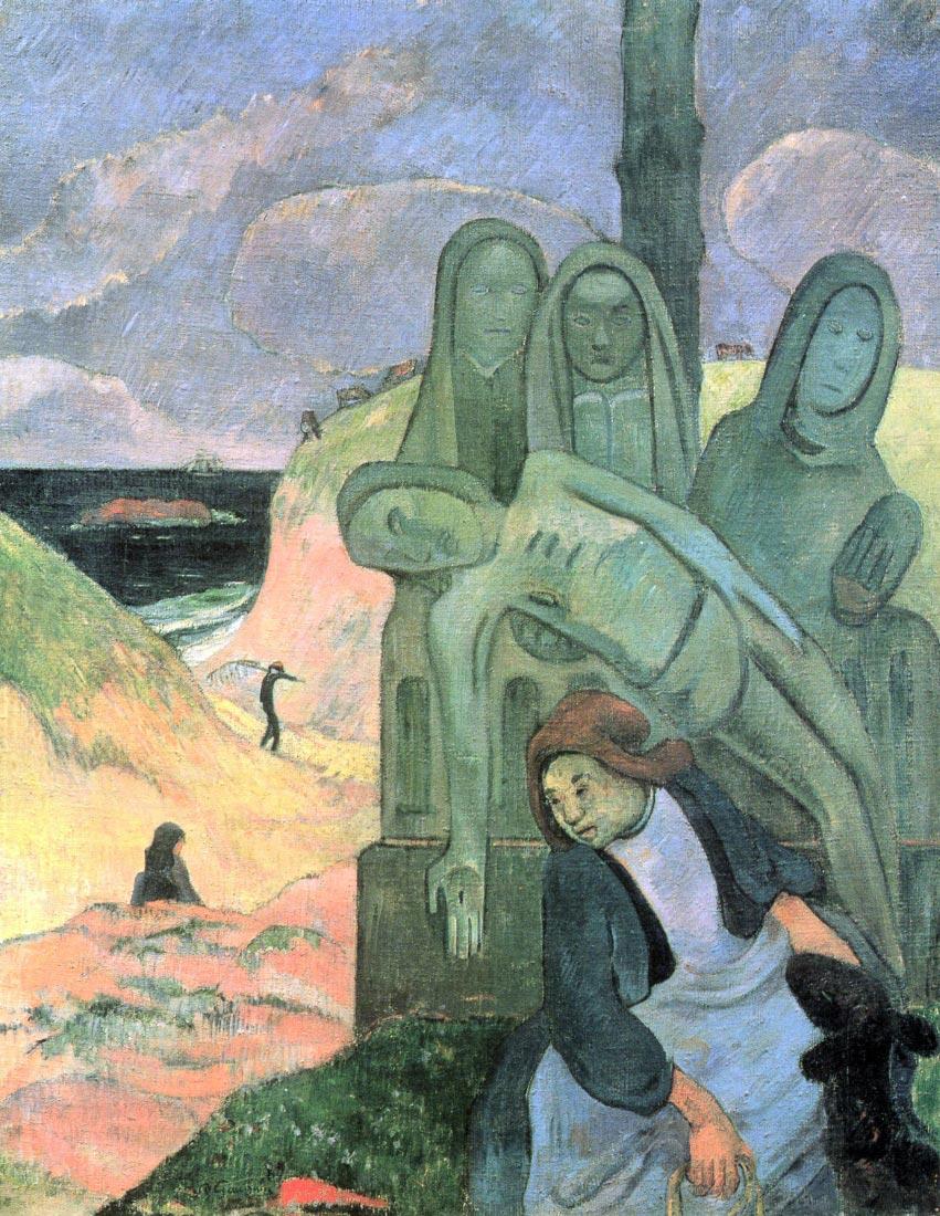 Green Christ - Gauguin