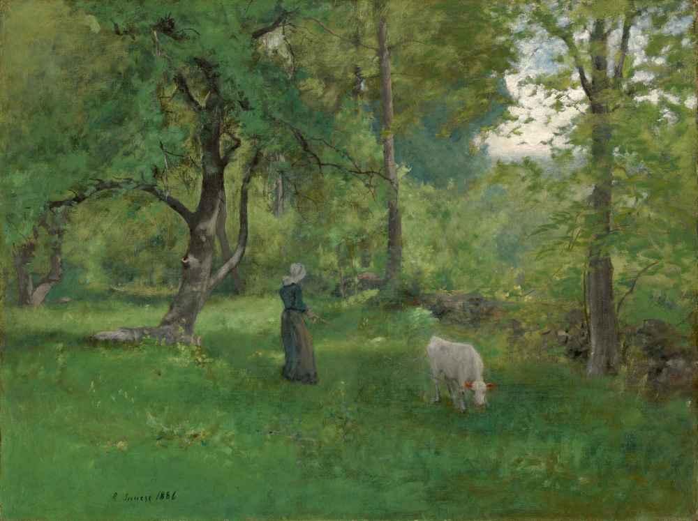 Green Landscape - George Inness
