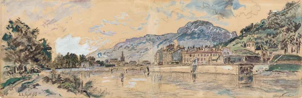 Grenoble - Johan Barthold Jongkind