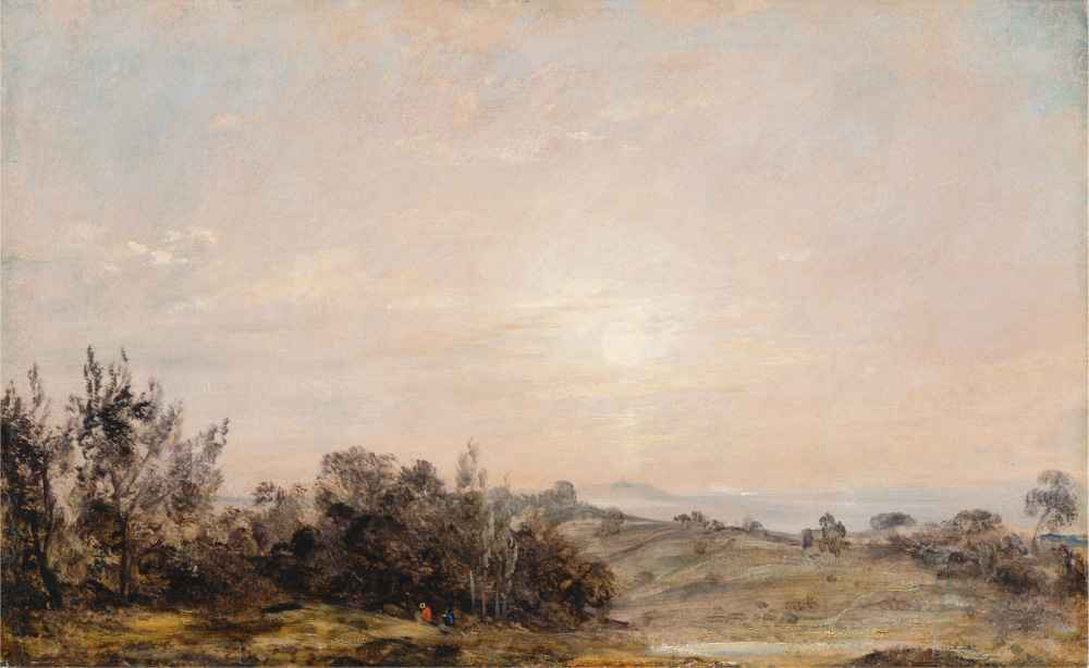Hampstead Heath looking towards Harrow 2 - John Constable