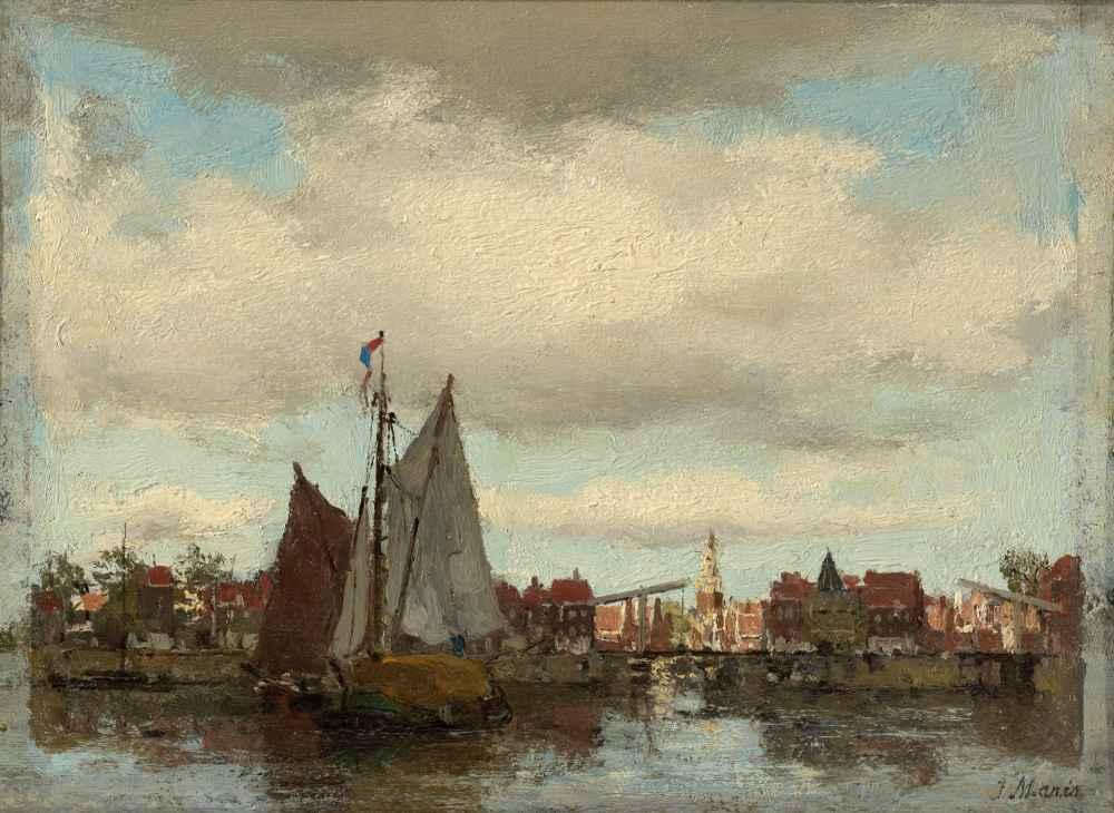 Harbor Scene - Matthijs Maris