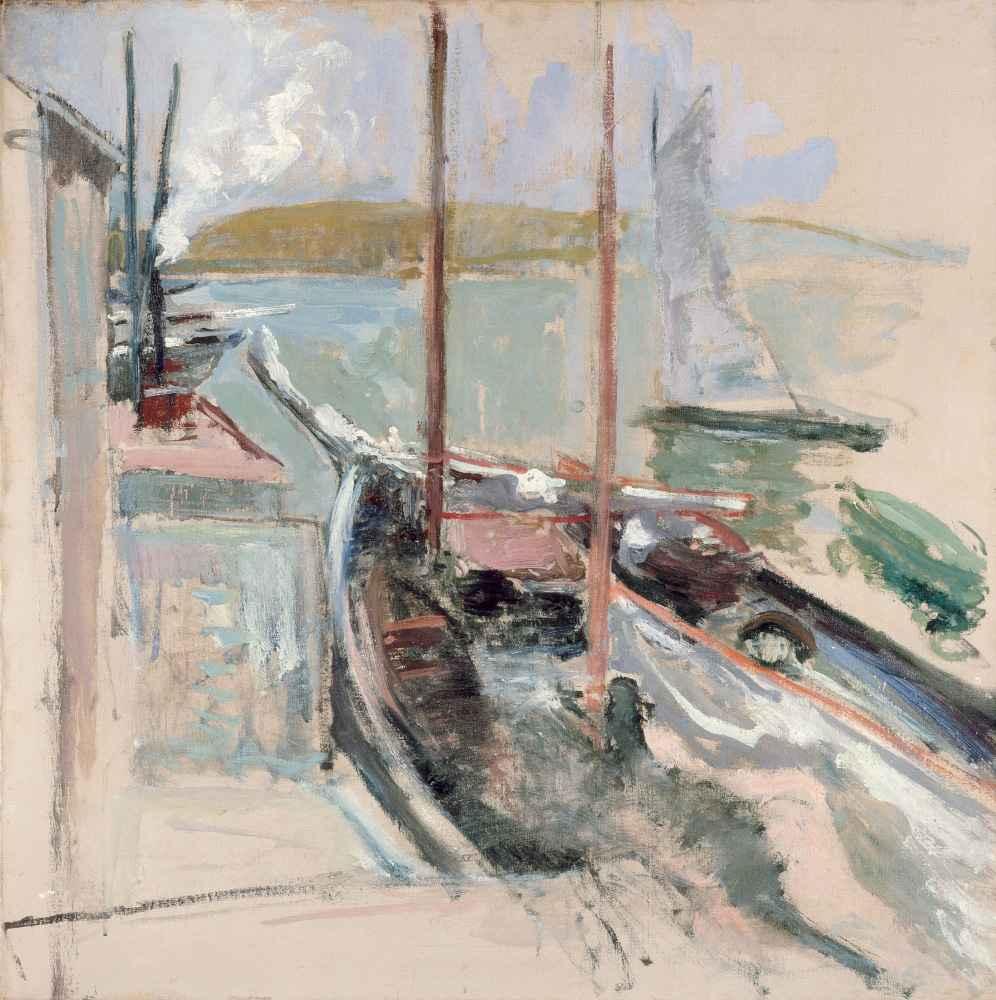 Harbor Scene - John Henry Twachtman