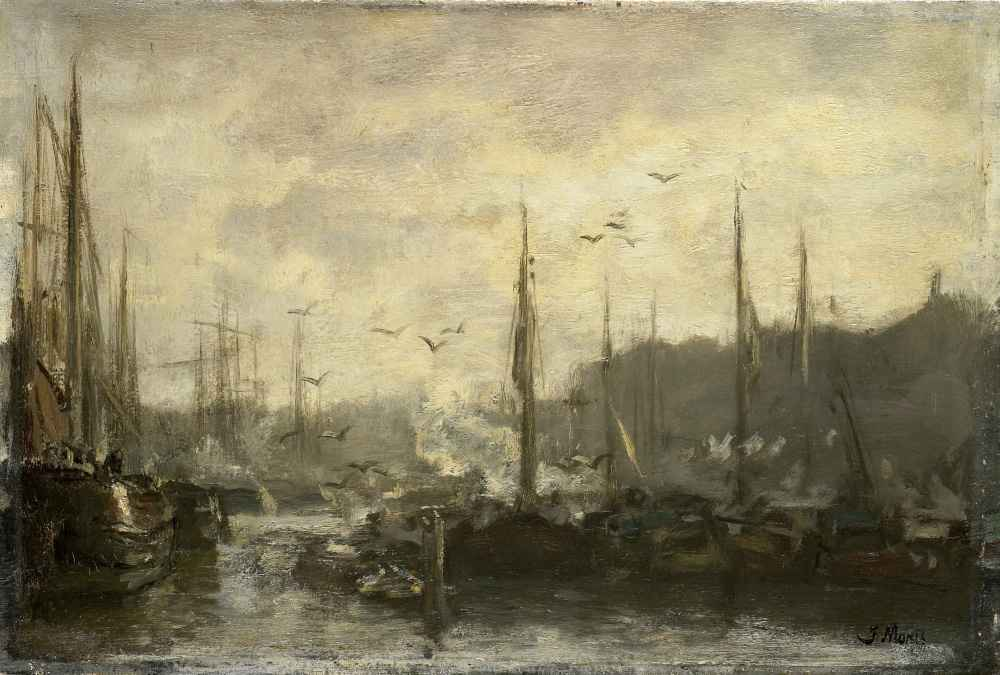 Harbor View - Matthijs Maris