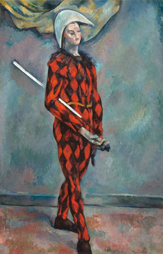 Harlequin 2 - Paul Cezanne
