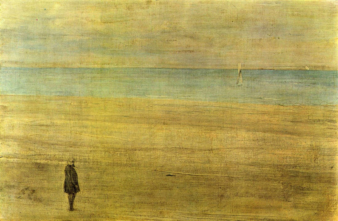 Harmony in Blue and Silver - Trouville - James Abbot McNeill Whistler