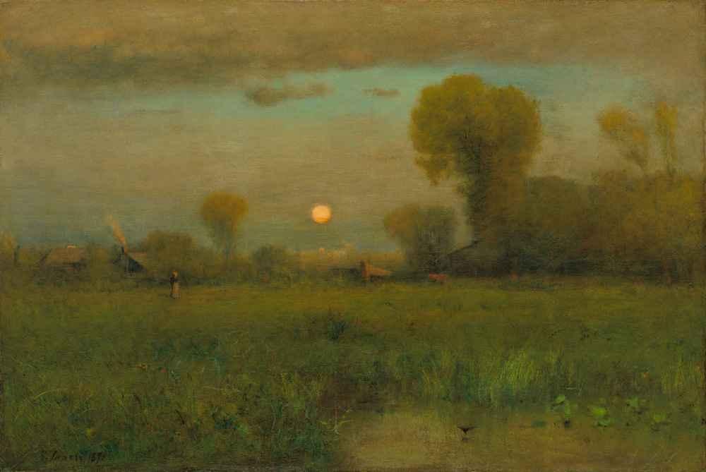 Harvest Moon - George Inness