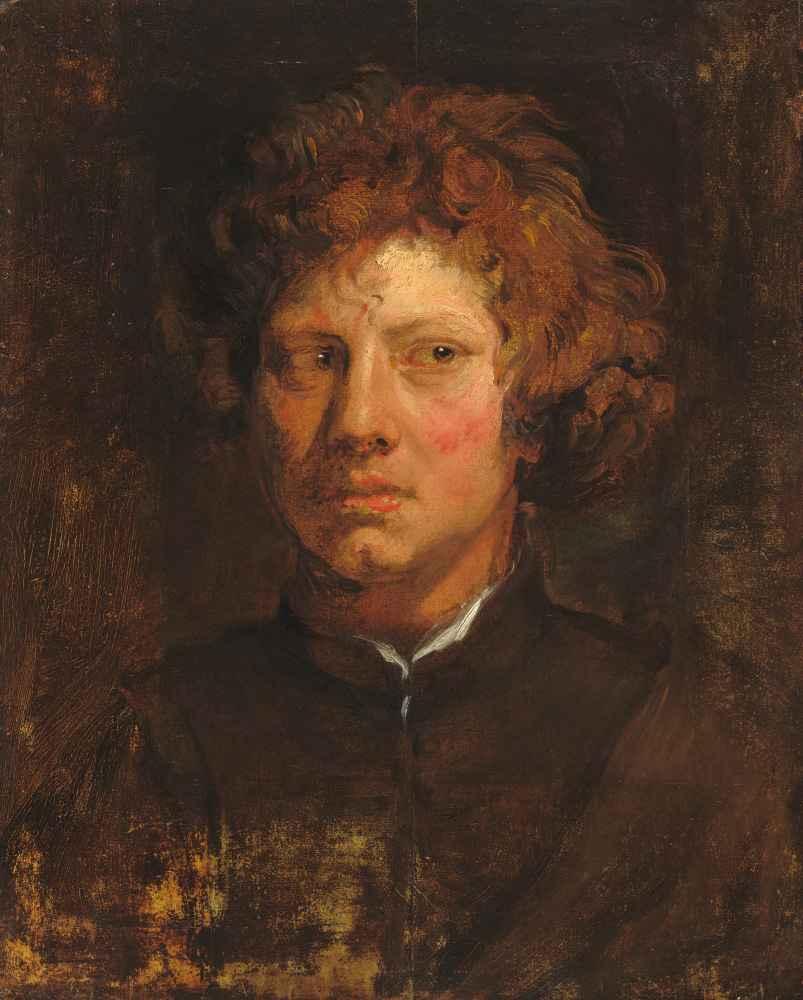 Head of a Young Man - Antoon van Dyck