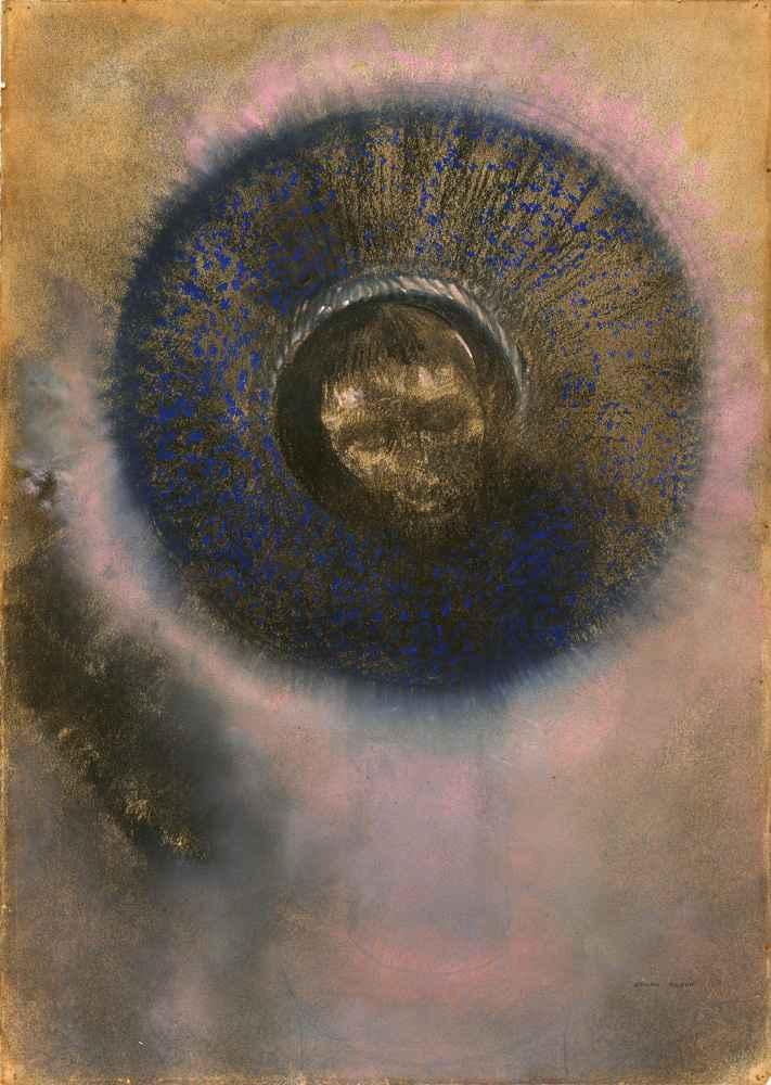Head within an Aureole - Odilon Redon