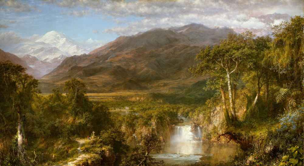 Heart of the Andes - Frederic Edwin Church