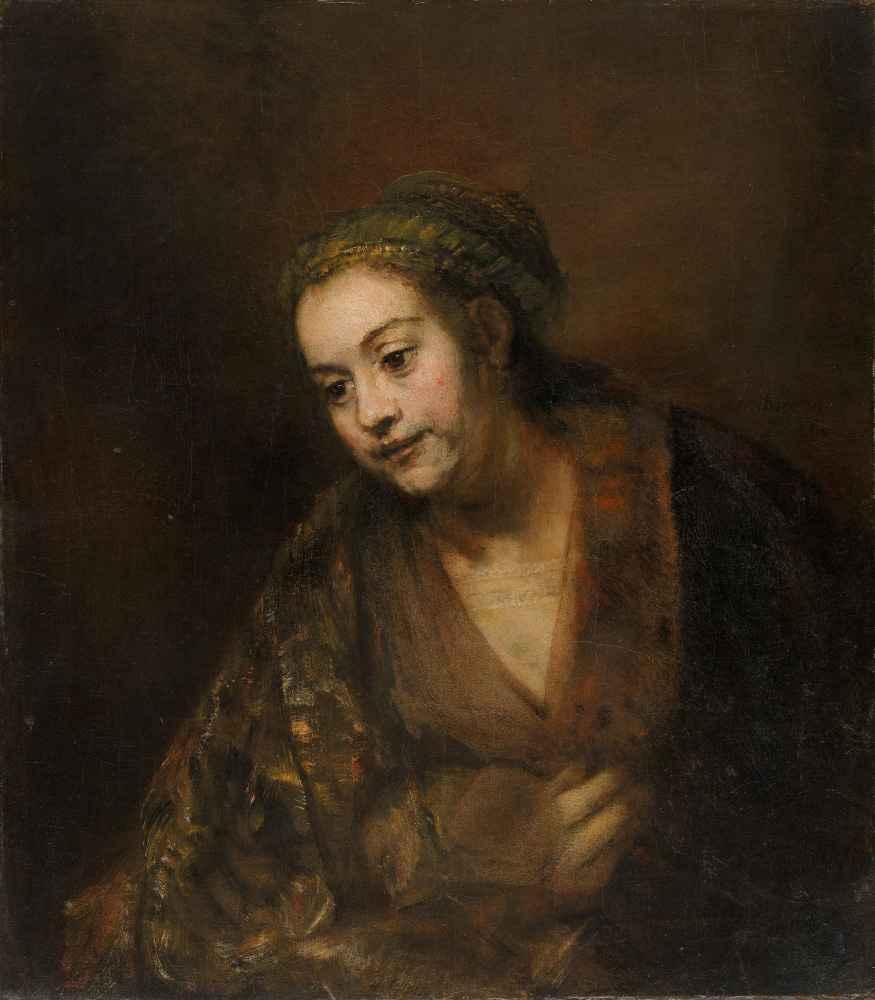 Hendrickje Stoffels - Rembrandt Harmenszoon van Rijn