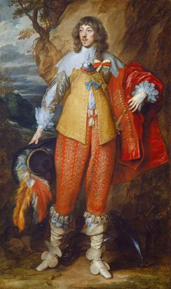 Henri II de Lorraine - Antoon van Dyck