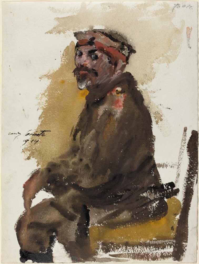 Hermann Struck in Uniform - Lovis Corinth
