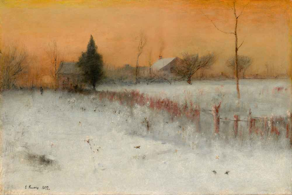 Home at Montclair - George Inness
