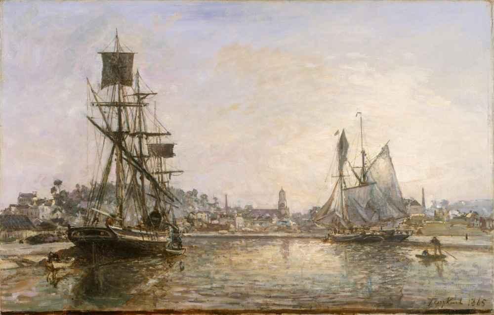Honfleur - Johan Barthold Jongkind