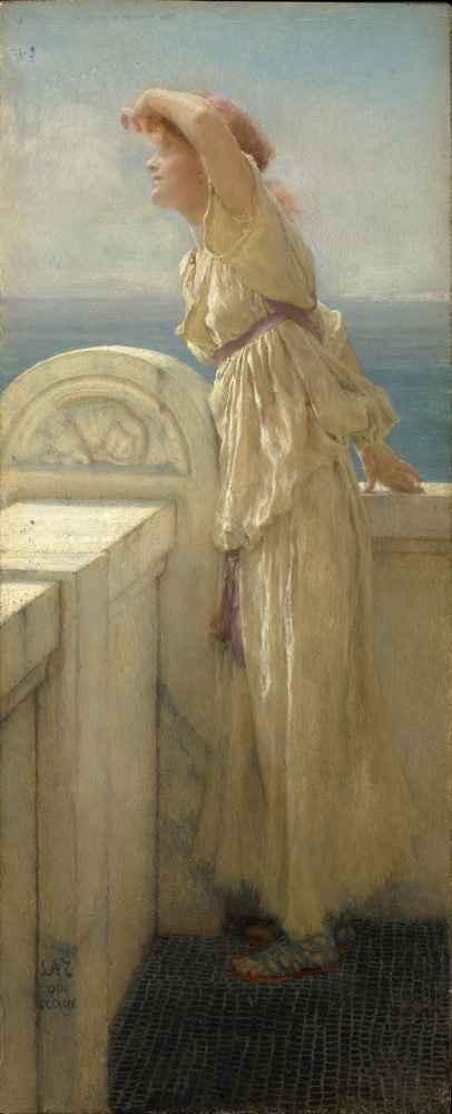 Hopeful - Lawrence Alma-Tadema