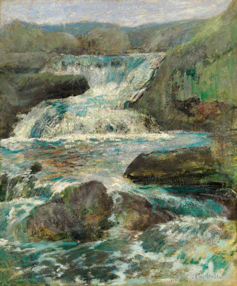 Horseneck Falls - John Henry Twachtman