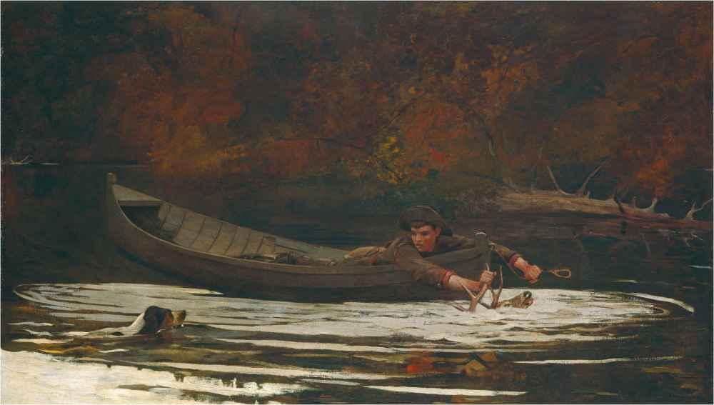 Hound and Hunter - Winslow Homer