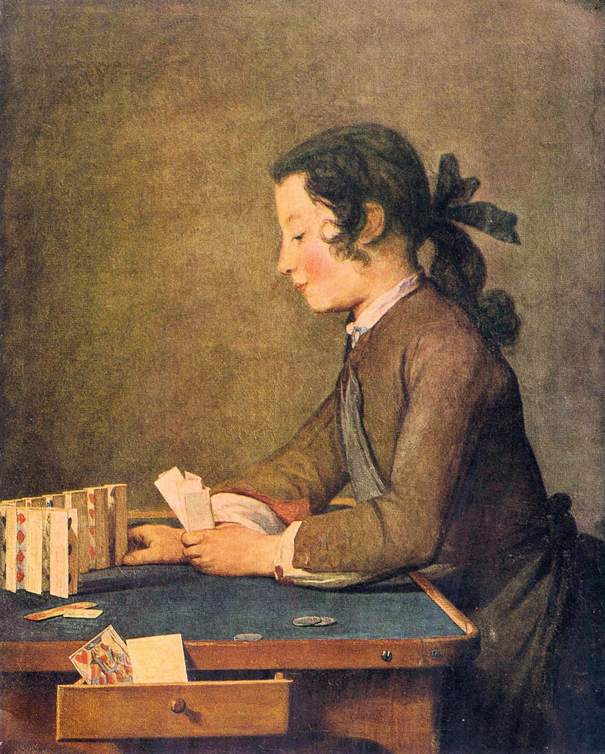 House of Cards - Jean Chardin
