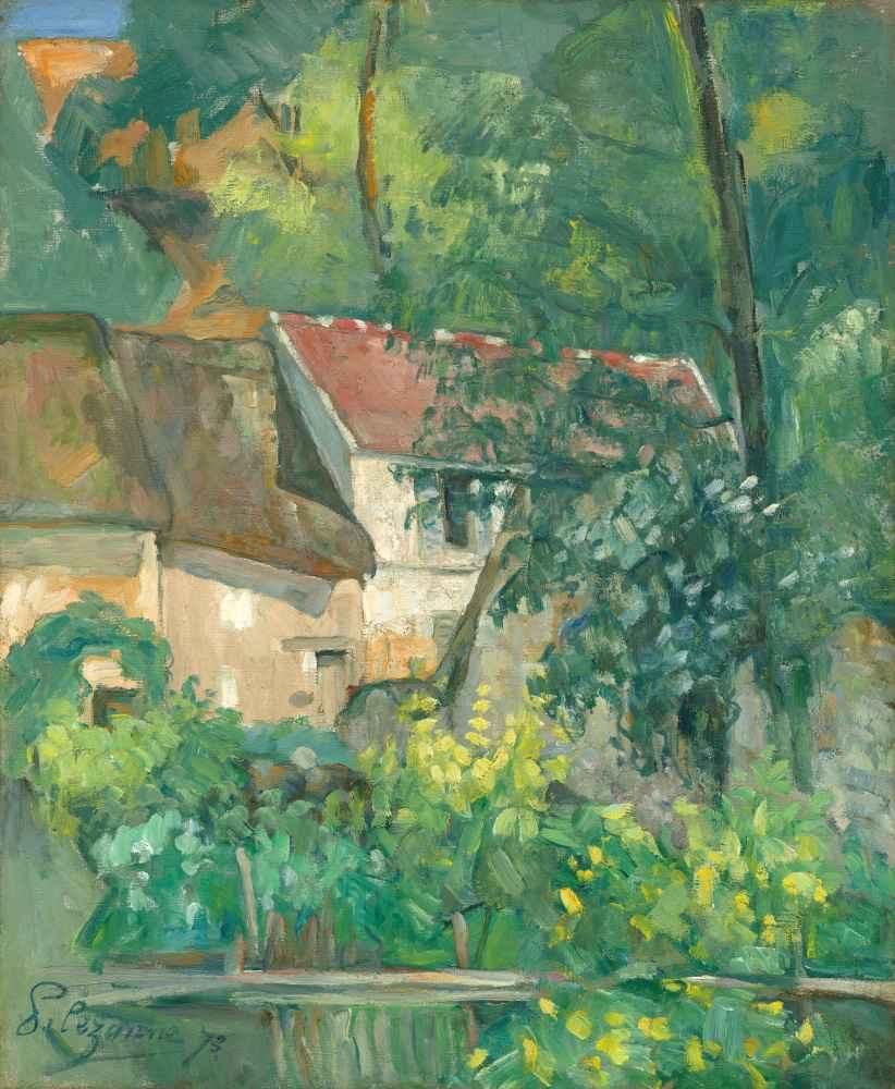 House of Père Lacroix - Paul Cezanne