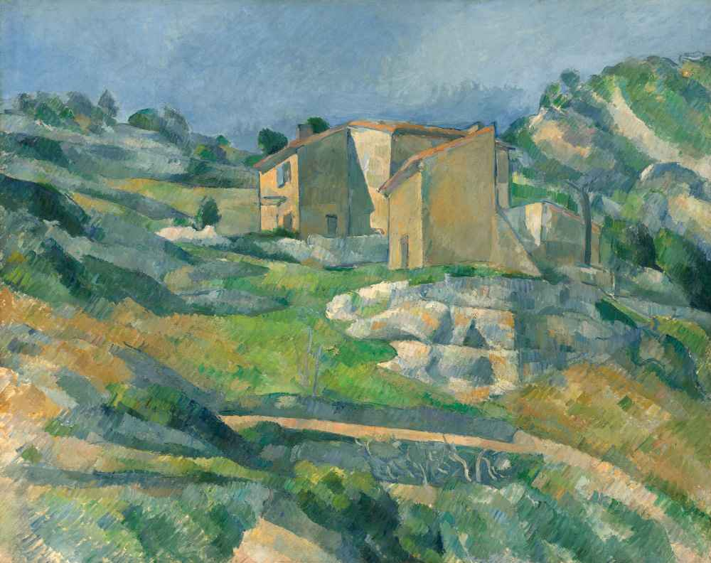 Houses in Provence - The Riaux Valley near Estaque - Paul Cezanne