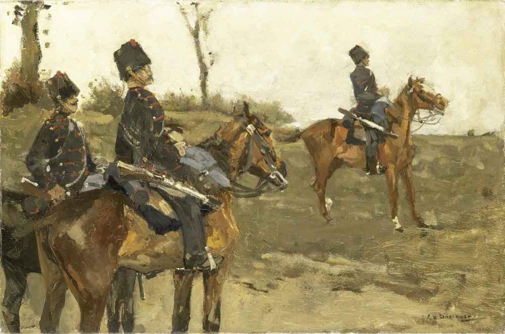 Hussars - George Hendrik Breitner