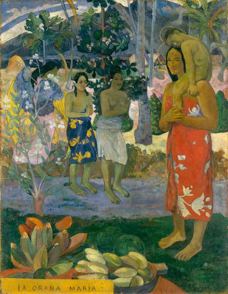 Ia Orana Maria (Hail Mary) - Paul Gauguin