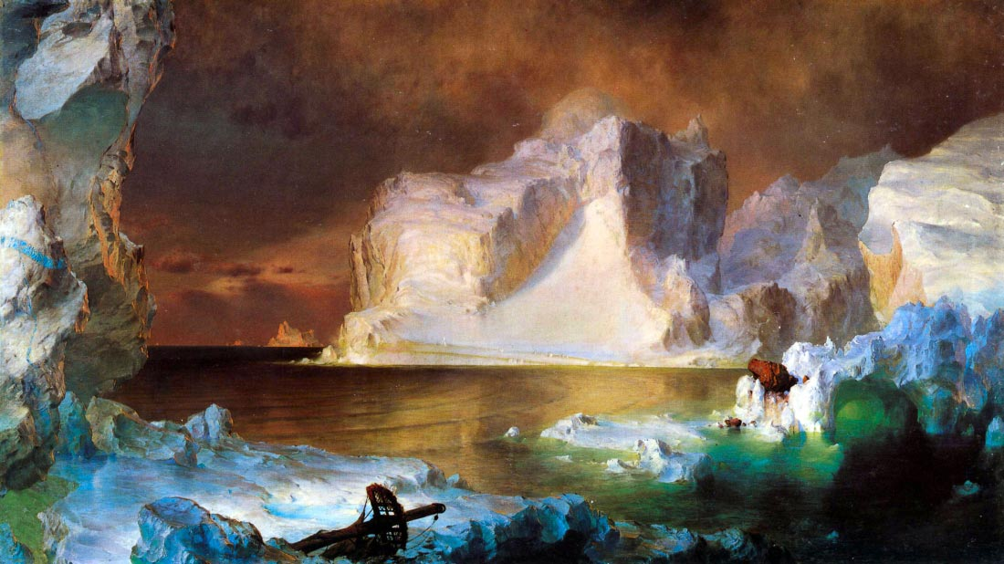 Iceberg - Frederick Edwin Church