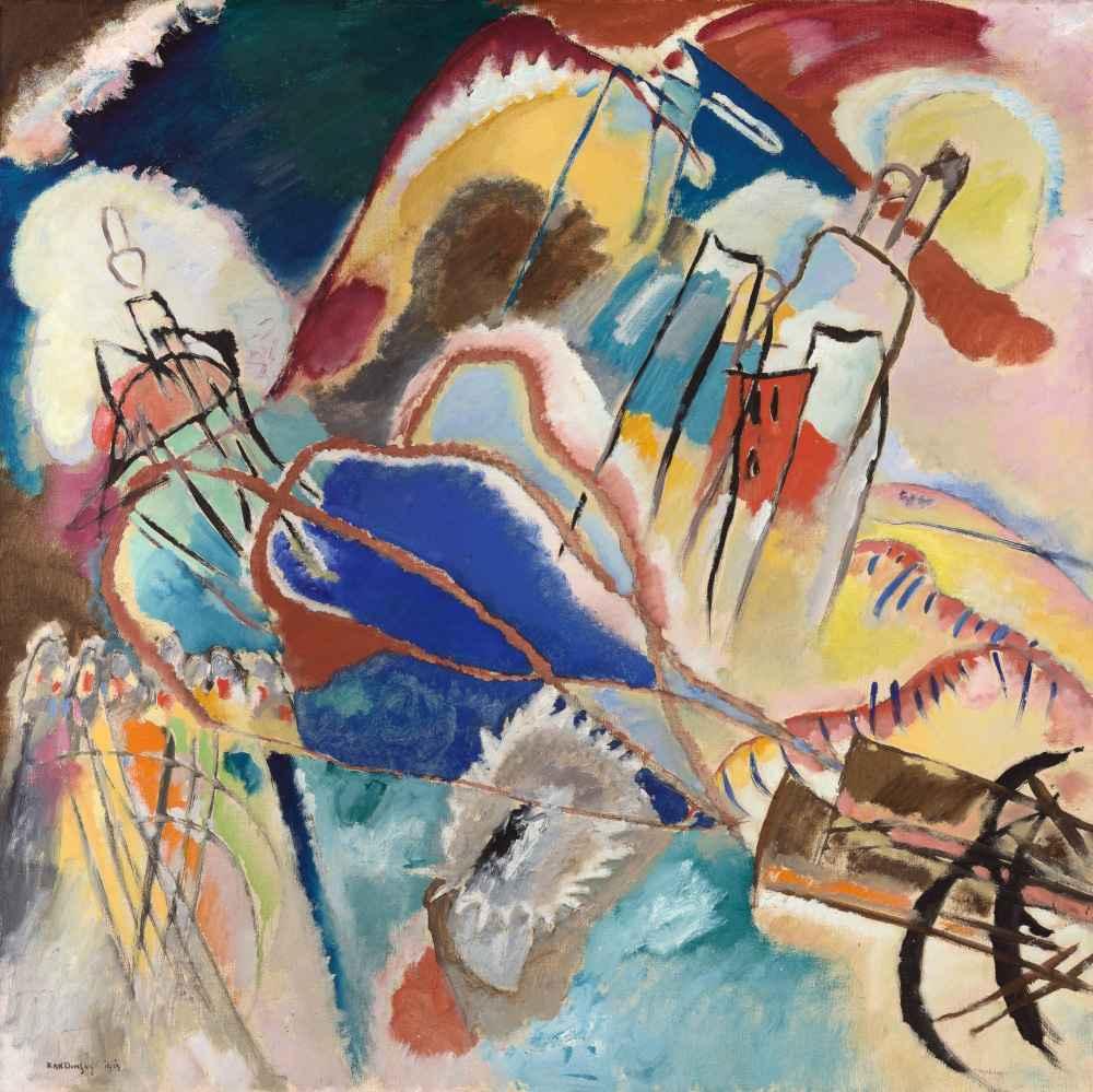 Improvisation No. 30 (Cannons) - Wassily Kandinsky