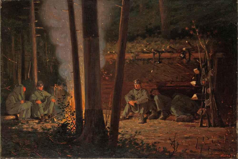 In Front of Yorktown - Winslow Homer