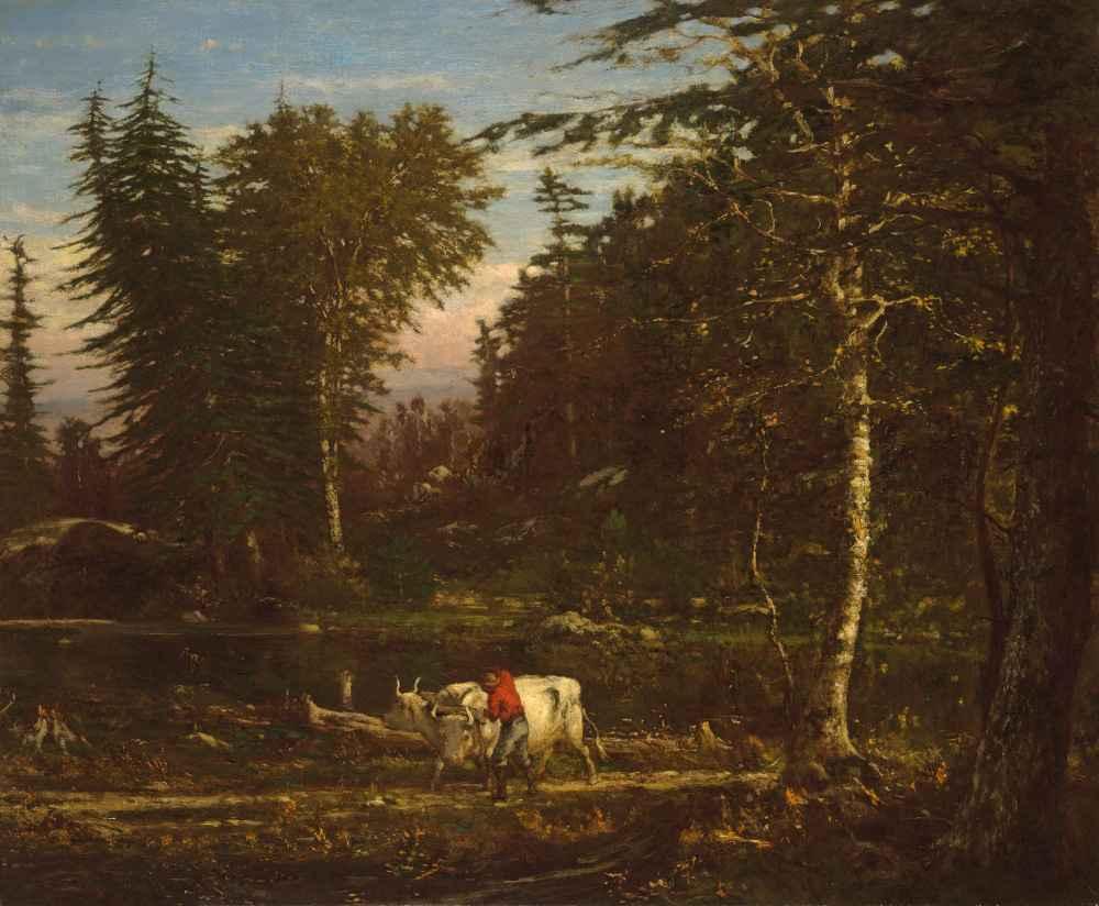 In the Adirondacks - George Inness