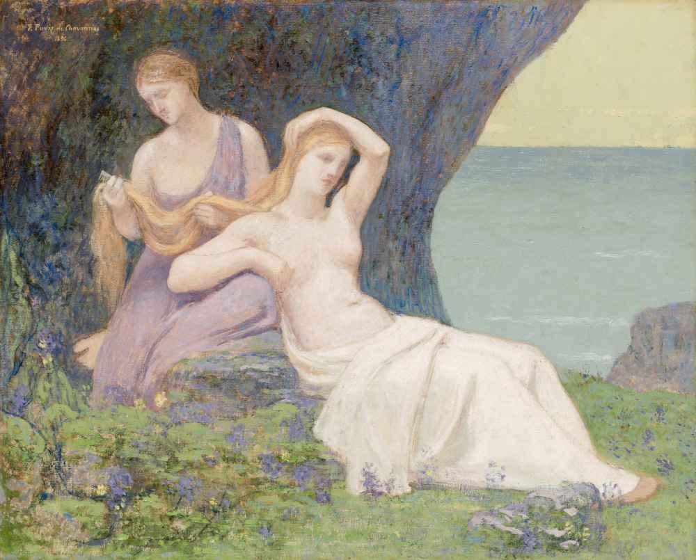 In the Heather - Pierre Puvis de Chavannes