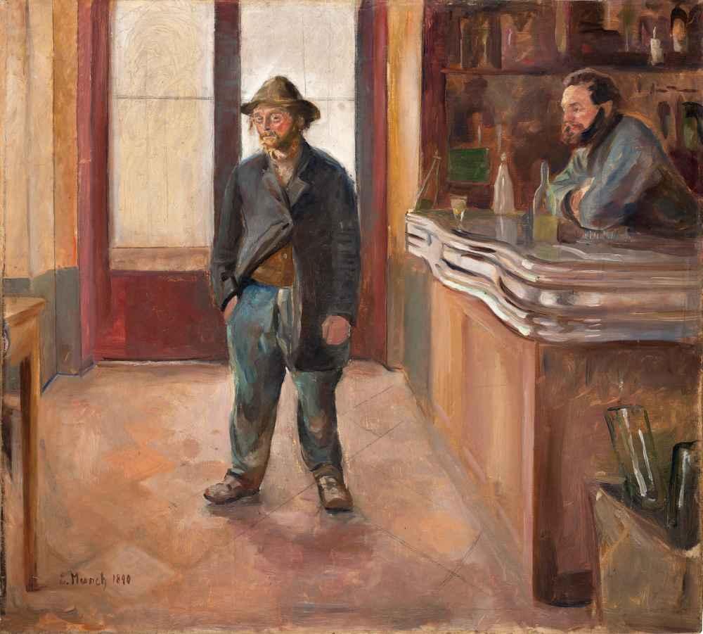 In the Tavern - Edward Munch