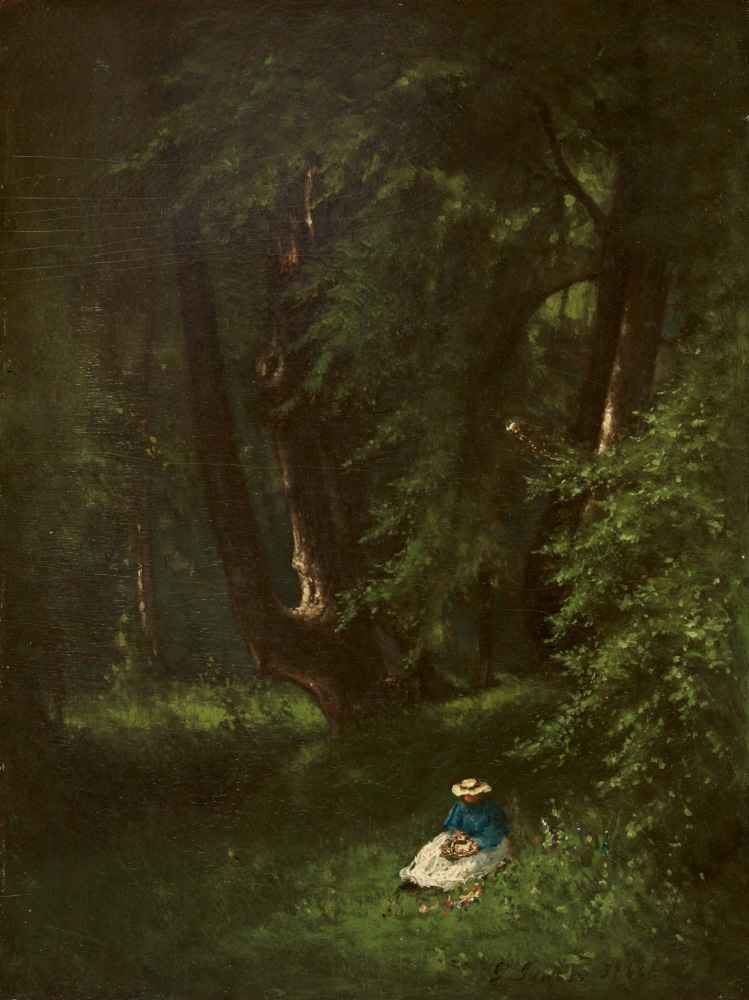 In the Woods - George Inness